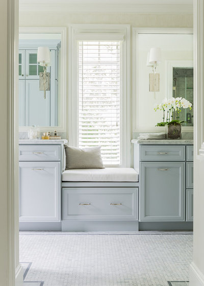 Traditional Bathroom by Janine Dowling Design Inc.