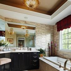 Eclectic Bathroom by Eleni Interiors