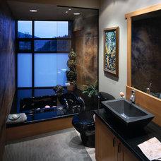 Contemporary Bathroom by Zervas