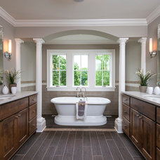 Traditional Bathroom by Kariel Staging & Decor