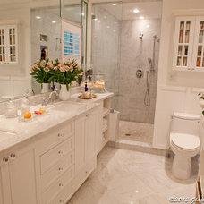 Traditional Bathroom by APRIL NOLAN DESIGN