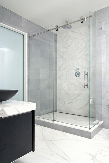 Modern Bathroom by Artistic Tile