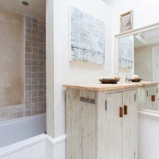 Shabby-Chic-Style Badezimmer in London