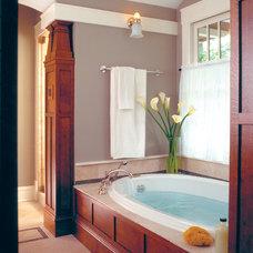 Craftsman Bathroom by Morgante Wilson Architects