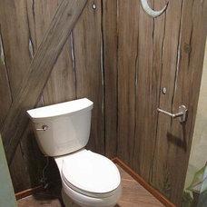 Eclectic Bathroom by Eubank Design Concepts