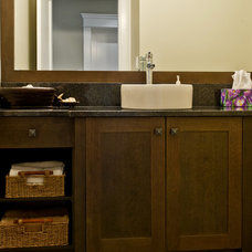 Traditional Bathroom by Harbour City Kitchens