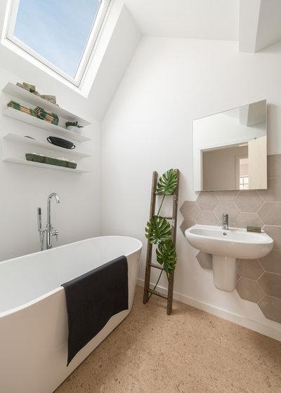 Contemporary Bathroom by Design Storey