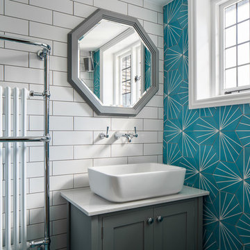 Arts And Crafts House - Family Bathroom