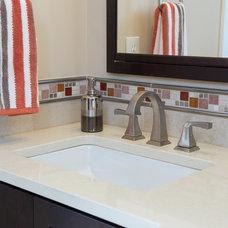 Craftsman Bathroom by Architectural Craftsmen
