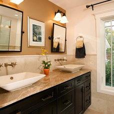 Craftsman Bathroom by Michael Nash Design, Build & Homes