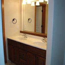 Craftsman Bathroom by Kim Petersen,   Architectural Design Services
