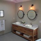Leonardo Travertine Tiles - Beach Style - Bathroom - Tampa - by Travertine Warehouse