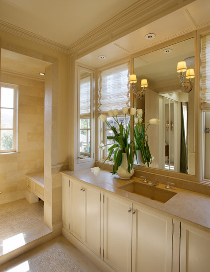 Traditional Bathroom by Candace Barnes