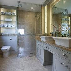 Contemporary Bathroom by Noel Dempsey Design