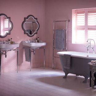 Idee per una stanza da bagno shabby-chic style