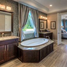 Traditional Bathroom by Ashton Woods