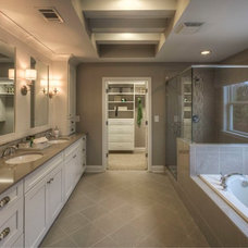 Transitional Bathroom by Ashton Woods