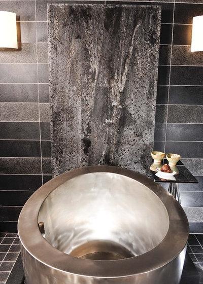 Contemporary Bathroom by Danenberg Design