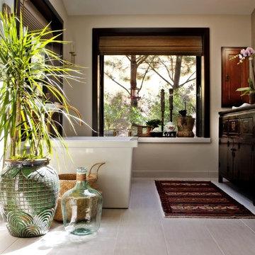 Asian Bath Remodel