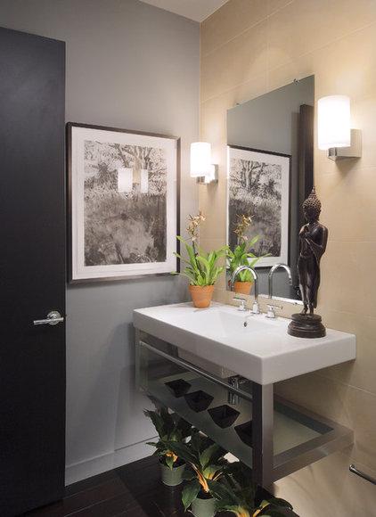 Asian Bathroom by Carson Poetzl, Inc.