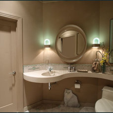 Asian Bathroom by Diane Plesset, CMKBD, NCIDQ, C.A.P.S.