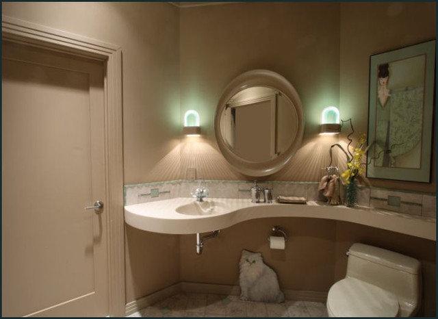 Asian Bathroom by Diane Plesset, CMKBD, NCIDQ, C.A.P.S.