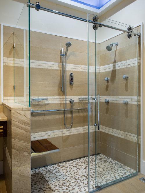 Foton och badrumsinspiration för asiatiska badrum i Philadelphia