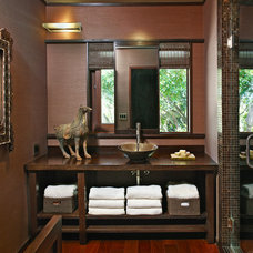 Asian Bathroom by Toro-Lombardo Design Build