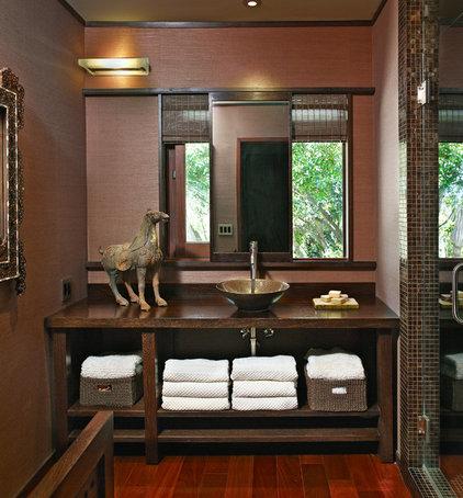 Asian Bathroom by Toro-Lombardo Design Build