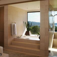 Asian Bathroom by Wardell Builders, Inc.