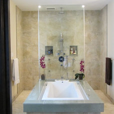 Asian Bathroom by Galileo Construction Inc.