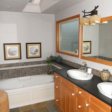 Asian Bathroom by Dale's Remodeling
