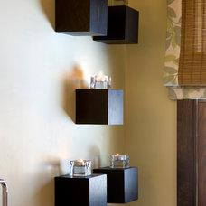Asian Bathroom by Luminosus Designs LLC