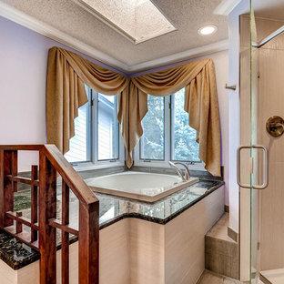 Asian Influenced Spa Style Master Bath