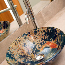 Asian Bathroom by RVP Photography