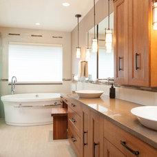 Asian Bathroom by The Neil Kelly Company