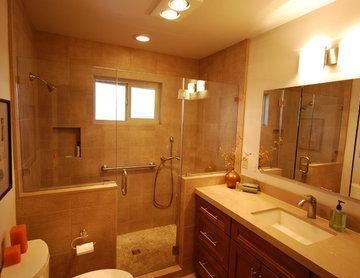 Asian Inspired Bathroom