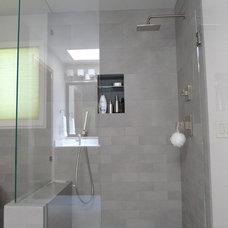 Asian Bathroom by Ambiente European Tile Design