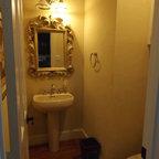 Shower Floor Mosaic Asian Bathroom Richmond By