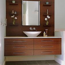 Asian Bathroom by CW Design, LLC