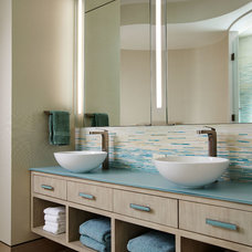 Contemporary Bathroom by Mary Washer Designs