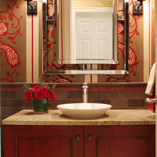 Traditional Bathroom by House of L Interior Design