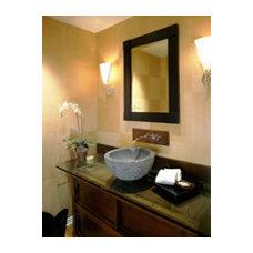 Asian Bathroom by Leslie Harris / Interior Design