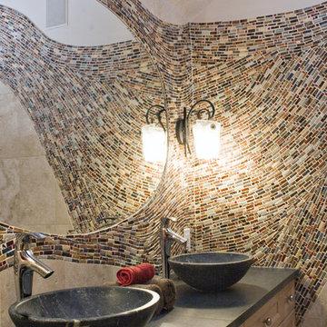 Asian Wave Bathroom