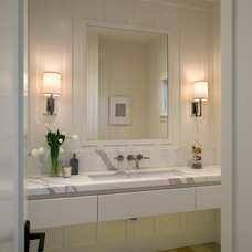 Transitional Bathroom by ASID San Diego Chapter