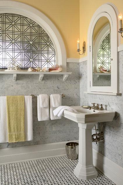 Traditional Bathroom by David Heide Design Studio