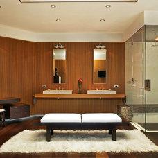 Contemporary Bathroom by Zone 4 Architects, LLC