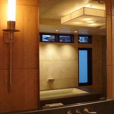 Modern Bathroom by 186 Lighting Design Group - Gregg Mackell