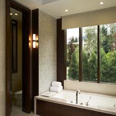 Contemporary Bathroom by Schaerer Architextural Interiors