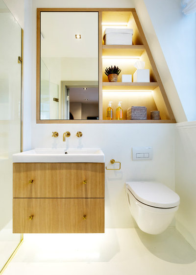 Contemporary Bathroom by HUX London